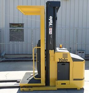 Yale Model Oso30ecn 2006 3000 Lbs Capacity Order Picker Electric Forklift