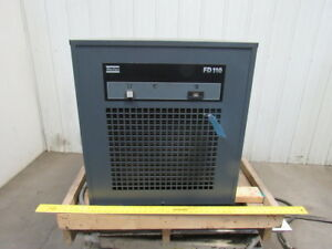 Atlas Copco Fd110 200 230v 1ph Refrigerant Compressed Air Dryer