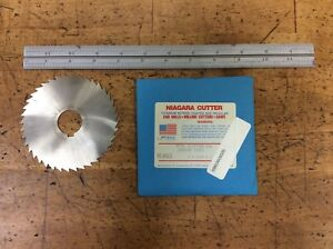 Niagara Cutter Slitting Saw 4 X 3 64 0469 X 1 New Usa