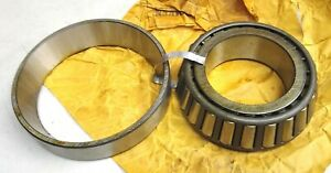 Timken Precision Class 0 Matched Roller Bearing Set 572 Cup 575 Cone New Nib