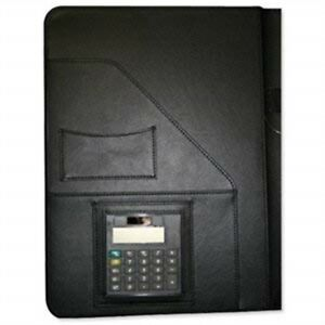 Alassio Conference Folder Writing Case With Calculator And Pad A4 Leather look