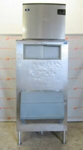 Follett Sg1000s 36 Manitowoc Iy1474c 161 Ice Maker Machine Base Storage Bin