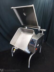 2016 Groen Eclipse Electric 30 Gallon Tilt Skillet Kettle Braising Pan 208v 40