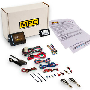 Complete 1 button Remote Start Kit For 2005 Mercury Grand Marquis With Bypass