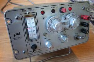Power Designs Model 2005a Precision Dc Power Supply Sold As Is