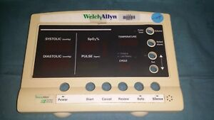 Welch Allyn 52000 Series Vital Signs Patient Monitor 35p1395 Front Housing Parts