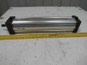 Parker Tef3ma3us14a 4 Bore 18 Stroke 1 Rod Double Acting 250psi Air Cylinder