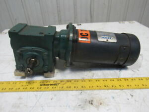 Dodge 17q40l56 40 1 Ratio 43 75rpm 1 2hp 180vdc Lh Gear Motor Speed Reducer