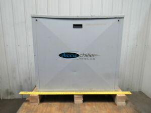 Accu Thermal Care Eq2w0304 3 Ton Water Cooled Recirculation Chiller 230v 3ph