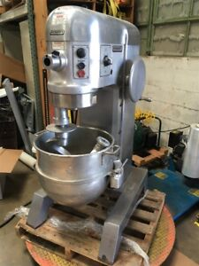 Hobart H 600 dt 60 Qt Commercial Mixer 208 240v 3 phase tested And Working