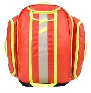 New Statpacks G3 Load N Go Medic Transport Backpack Bag Red Stat Packs
