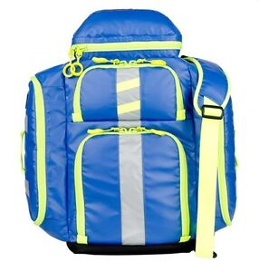 New Statpacks G3 Perfusion Ems Medic Backpack Bag Blue Stat Packs