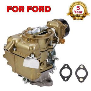 Carburetor Yf Type Carter 240 250 300 Engine Vacuum 6 Cil For 1971 1974 Ford