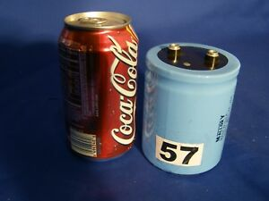 Mallory 27 000 Uf 75v Large Can Electrolytic Capacitor 27 000 Mfd 75 Vdc
