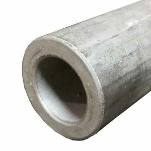 304 Stainless Steel Round Tube 2 1 2 Wall 0 375 Length 24 Seamless