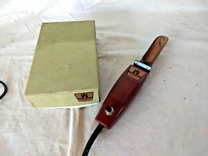 Vintage Growing Systems Vibrating Hand Held Seeder Works Great W Box