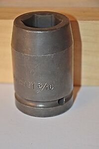 1 3 16 Inch Armstrong Usa 1 Inch Drive 6 Point Deep Impact Socket Ships Free