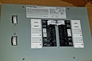 Gentran Transfer Switch 12 circuit 12 5kw Model 501210 Never Used In Box