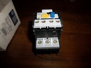 General Electric Rtn1g Overload Relay