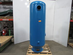 200 Gallon Compressed Air Vertical Upright Receiver Tank