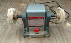Vintage Craftsman Commercial hp Bench Buffer Grinder Model 397 19440 Usa Made