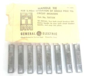 Lot Of 8 New General Electric Tht104 Handle Ties