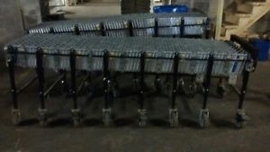 Conveyor Rollers Steel Skatewheel Used 24 X 24 Expanding Warehouse Equipment