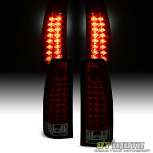1988 1998 Chevy Silverado Gmc C K 1500 2500 3500 Lumileds Led Tail Lights Lamps