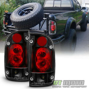 For 1995 2000 Toyota Tacoma Truck Black Tail Lights Brake Lamps Left right 95 00