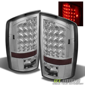 2002 2006 Dodge Ram 1500 2500 3500 Led Tail Lights Lamps Left right Aftermarket