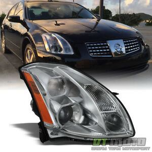 For 2004 2006 Maxima Replacement Headlight Headlamp Right Side Passenger 04 06