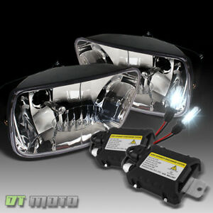 Slim Ballast Xenon Hid Upgrade Kit 02 09 Chevy Trailblazer Driving Fog Lights