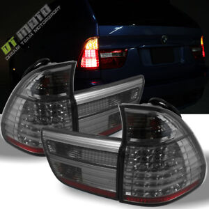 Smoked 2000 2006 Bmw X5 E53 Lumileds Led Tail Lights Rear Brake Lamps Left Right