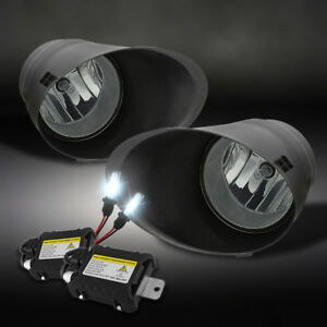 For Slim Ballast Xenon Hid Upgrade 07 13 Tundra Jdm Smoke Driving Fog Lights Kit