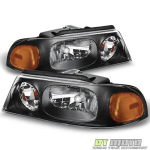 1998 1999 2000 2001 2002 Lincoln Navigator Headlights Headlamps 98 02 Left Right