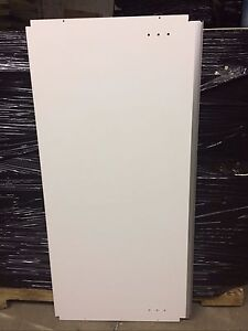 Commercial White Wood Shelves 2 X 4 Pressboard Lot 100 Used Store Fixture Board