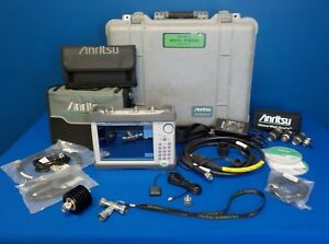 Anritsu S332e Opt 31 Site Master Spectrum Analyzer 2 Mhz 4 Ghz
