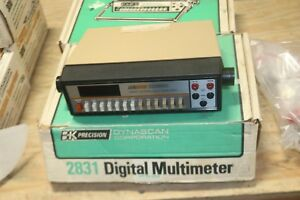 Working Bk Precision Digital Multimeter 2831 In Box