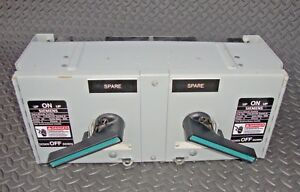 Siemens V7e3611r Fusible Panelboard Switch 30 Amp 3 Phase 600 Volt Vacu Break