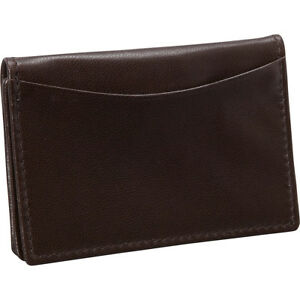 Budd Leather Nappa Soft Leather Business Card Case Business Accessorie New