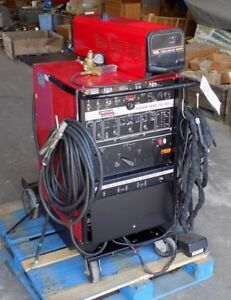 used Lincoln Electric Square Wave Tig 355 Welder With Cool arc 40 Tested