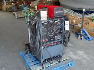 used Lincoln Electric Square Wave Tig 300 Welder With Cool arc 40 Tested