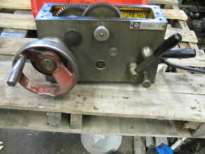 Clausing Colchester 8000 Series 13 X 40 Geared Head Lathe Apron 1 2 Nut Vgc