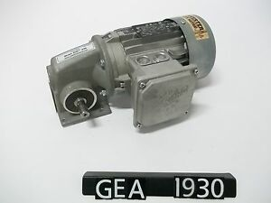 Nord 25 1 1sm31 63s 4cus 0 16 Hp 3 Phase Gearmotor gea1930