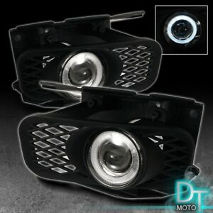 99 03 Ford F150 Expedition Halo Projector Fog Lights Lamps W switch Left right
