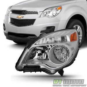 2010 2015 Chevy Equinox Ls Lt Headlight Headlamp Replacement 10 15 Driver Side
