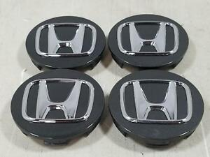 2017 Honda Civic Set 4 Center Caps 44742 Oem