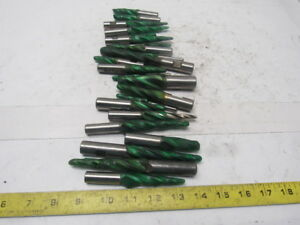 Misc Mixed Lot Tapered End Mill 1 4 3 4 Shank 4 5 6 Lot Of 23