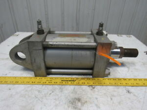 Milwaukee Cylinder H61 Hydraulic 3000psi 6 Bore 6 Stroke Rod Clevis Mount