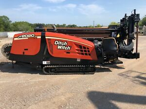 13 Ditch Witch Jt2020 Mach I Directional Drill 817 221 1036